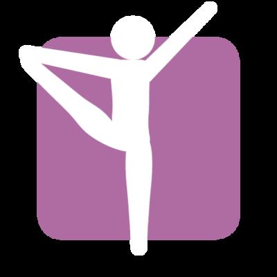 rytmisk gymnastik ikon på efterskole