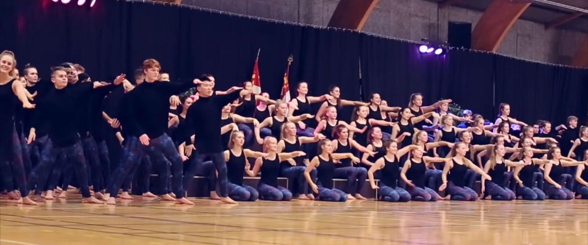 Gymnastikopvisning med Sorø Gymnastikefterskole