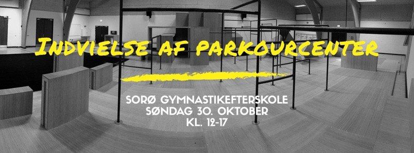 parkourcenter på sorø gymnastikefterskole indvielse