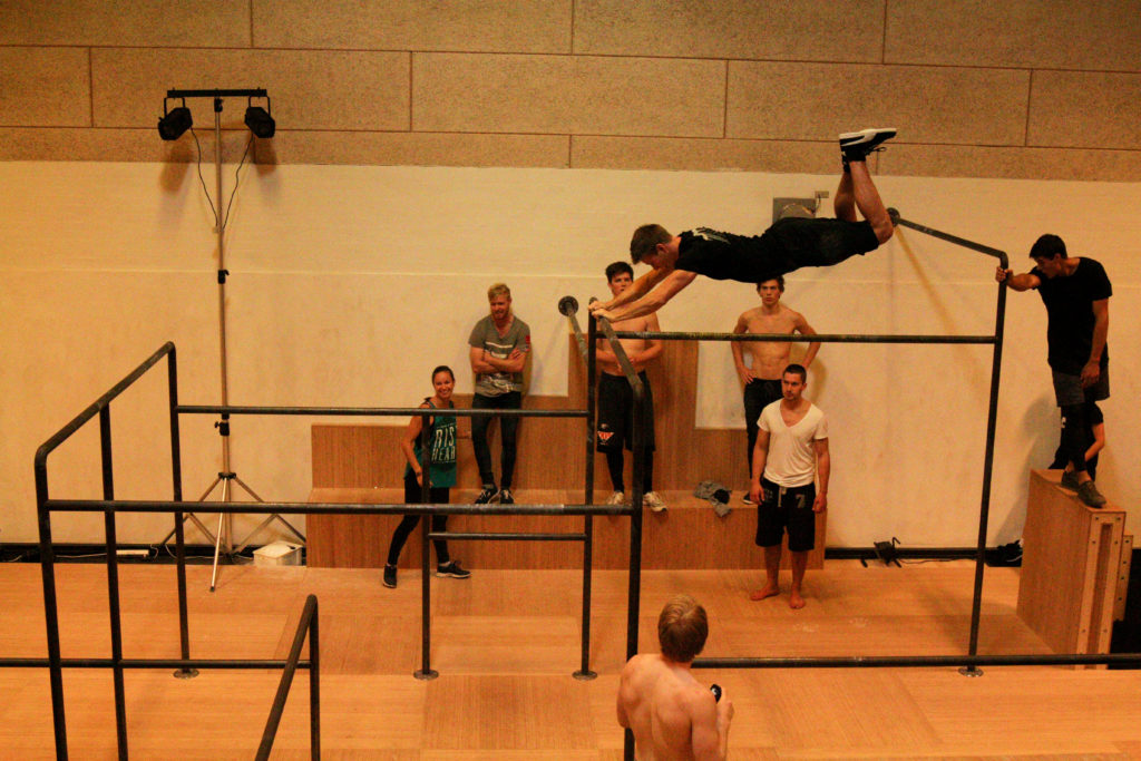 Giant swing på efterskole