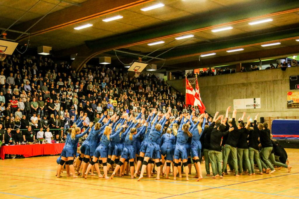 gymnastikopvisning i kalundborg