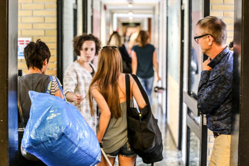 Indflytning på efterskoleværelser