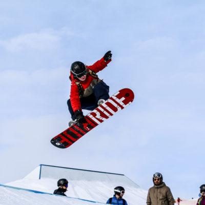 Snowboard på efterskole