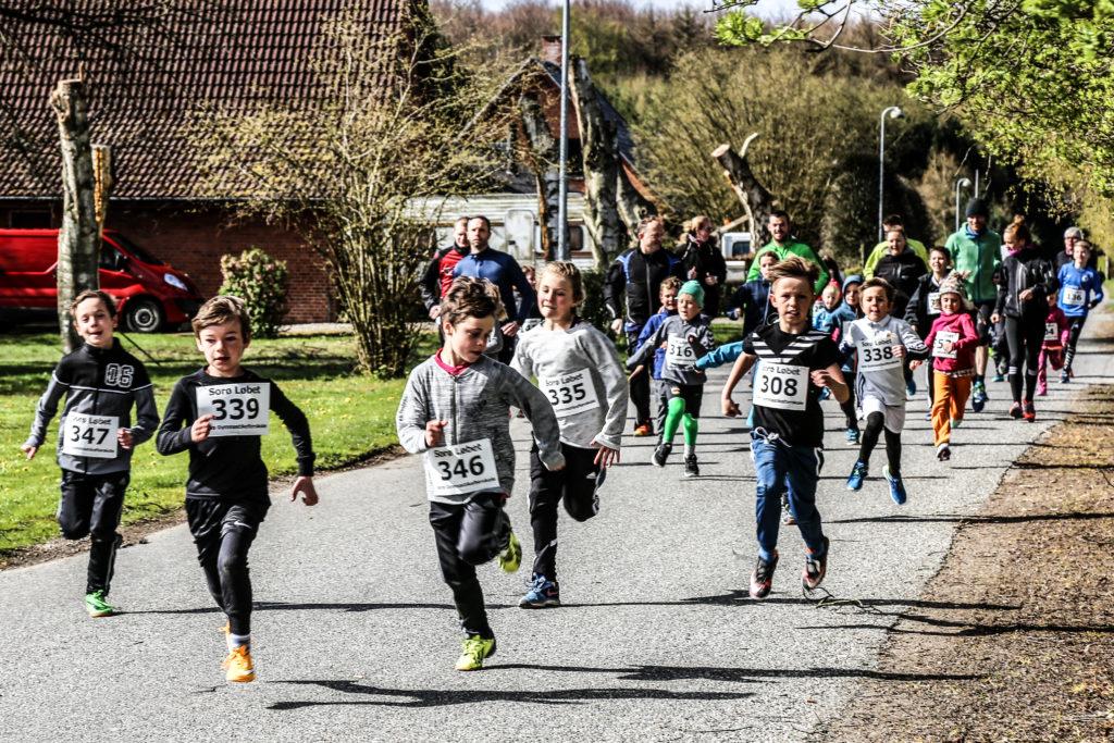 Børneløb til Sorø Løbet