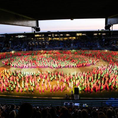 Landsstævne i Esbjerg med efterskolerne