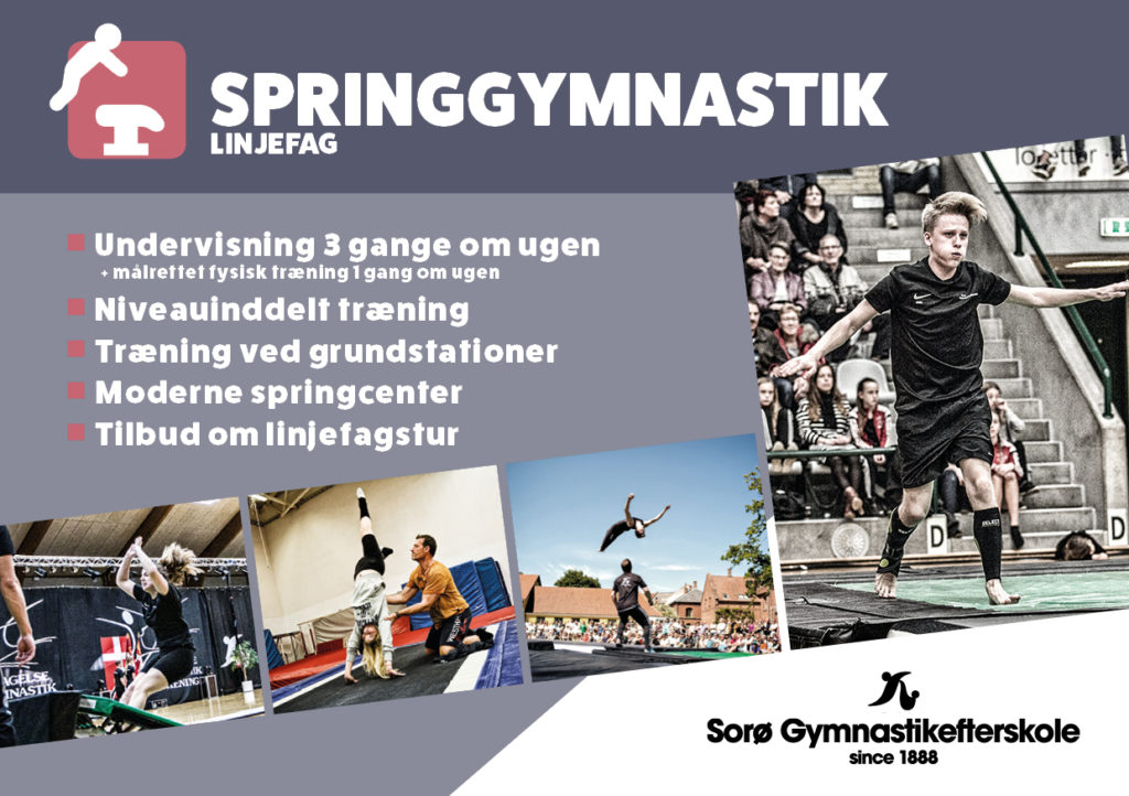Linjefag Springgymnastik