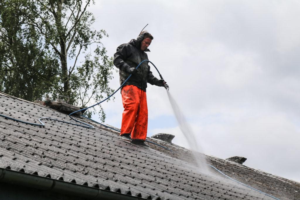 Tagrenser på taget