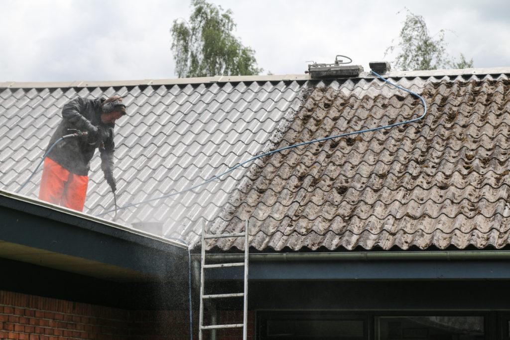 Tagrensning af taget