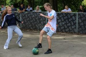 Streetfodbold på efterskole