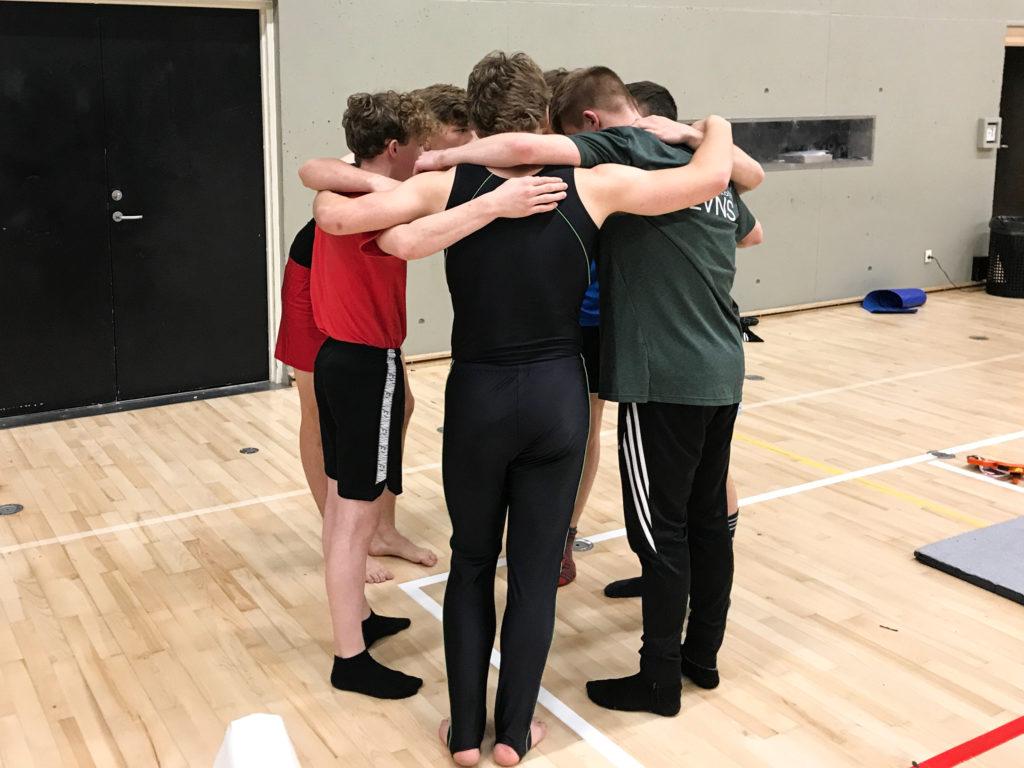 Drenge konkurrence til Gymbattle