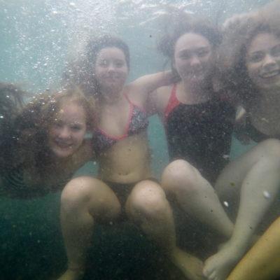 Dykning i islandske varmekilder