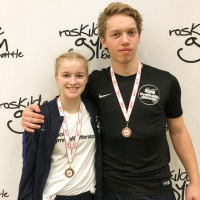 Martin og Marie vinder gymbattle