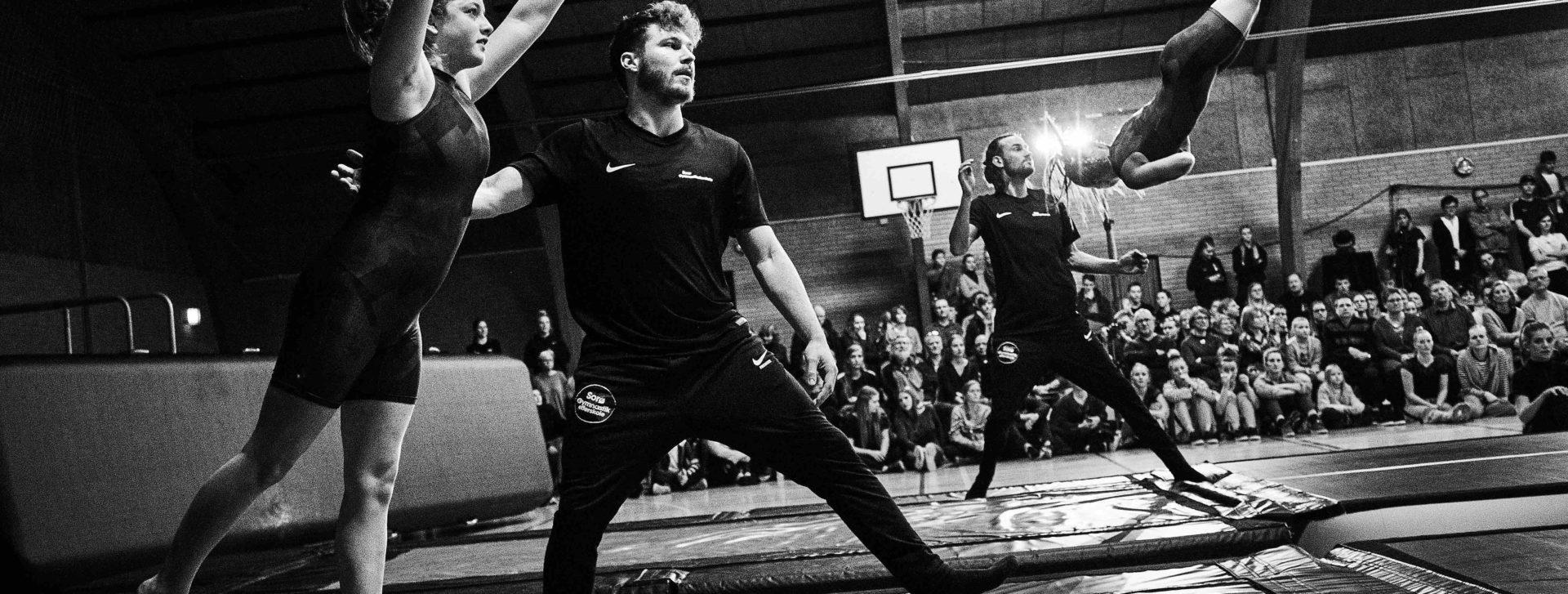 Gymnastikopvisning Sorø Gymnastikefterskole