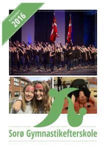 Årsskrift 2016 Sorø Gymnastikefterskole