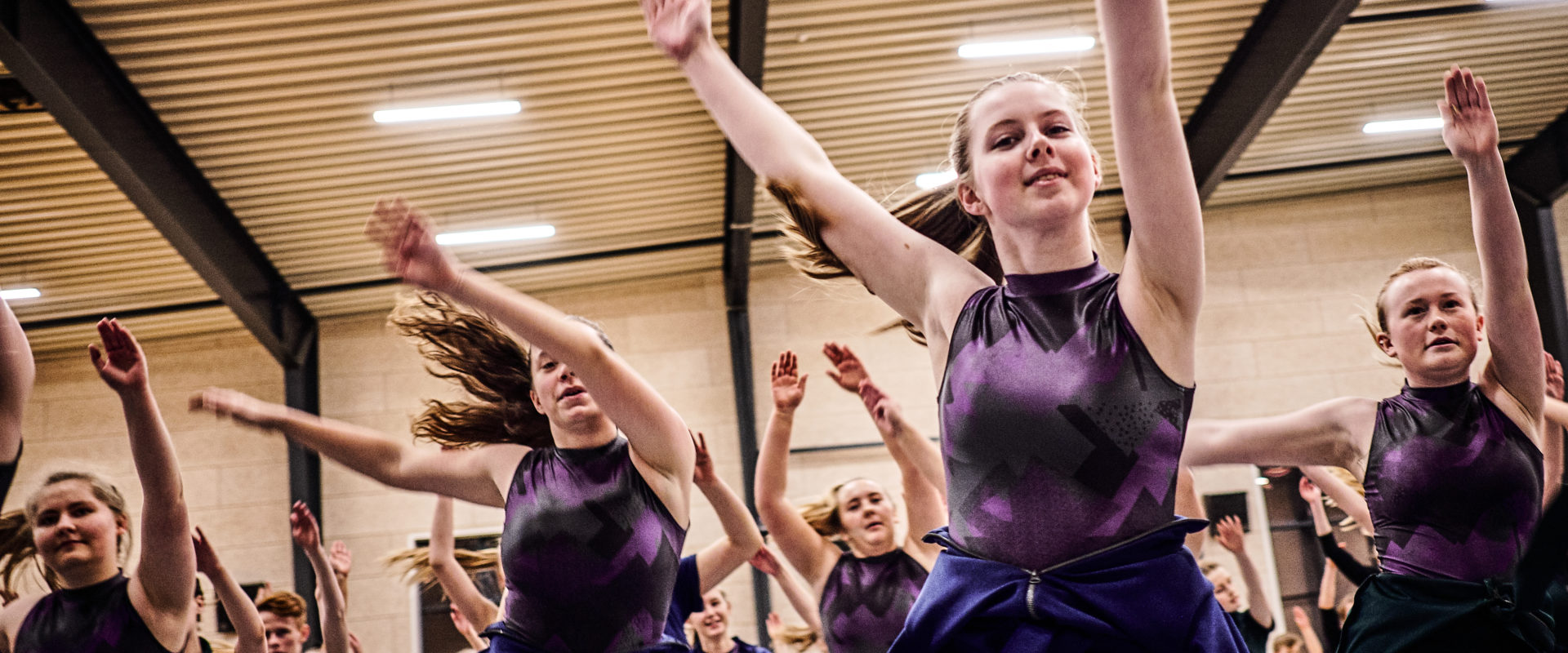 Pigegymnastik på efterskole