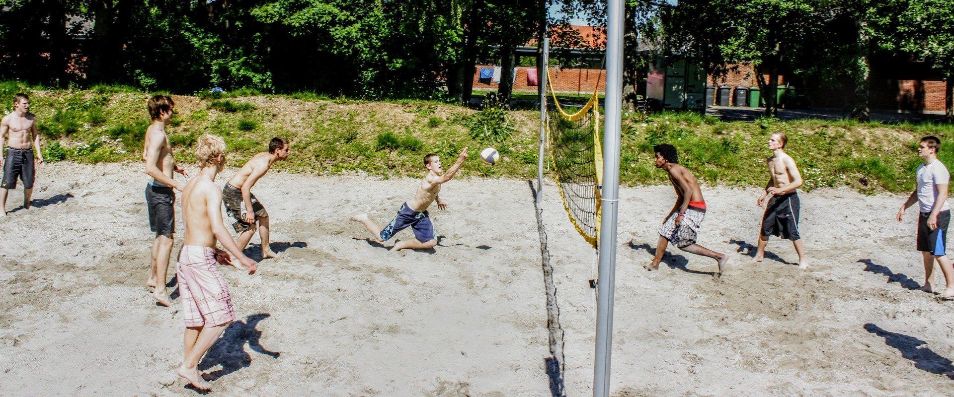 volleyball efterskole
