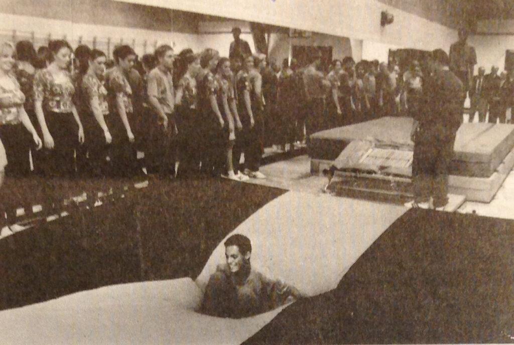 Indvielse af springgrav 1994