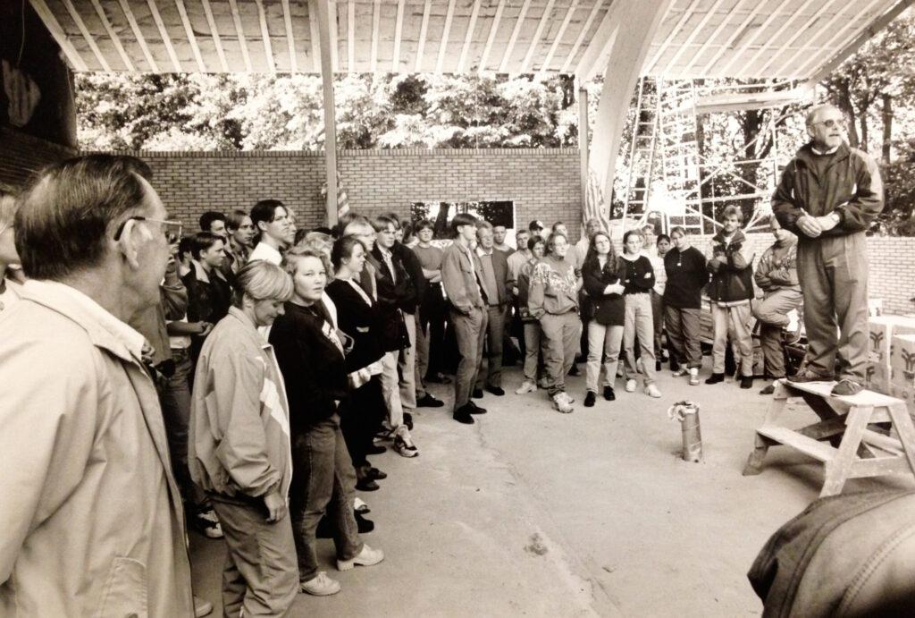 Rejsegilde på springhallen 1994